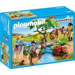 Playmobil Country - Plimbare la tara cu calutii