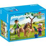 Playmobil Country - Veterinar cu ponei si manz