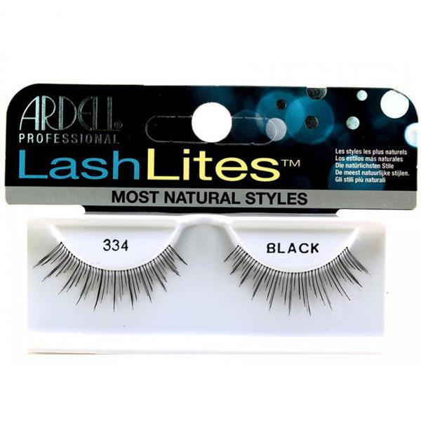 Gene False tip Banda - Ardell Natural LashLites 334 Black imagine produs