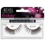 Gene False tip Banda - Ardell Accents Edgy Lash 401 Black
