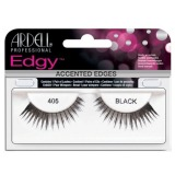 Gene False tip Banda - Ardell Accents Edgy Lash 405 Black
