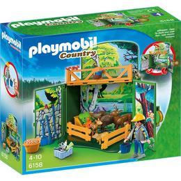 Playmobil Country - Animalutele padurii sunt gata de joaca si pline de energie.