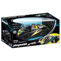 Playmobil Sports Action - Masina de curse cu telecomanda, neagra