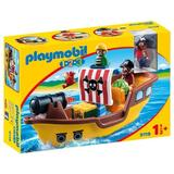 Playmobil 1.2.3. - barca piratilor