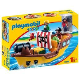 Playmobil 1.2.3. - barca piratilor