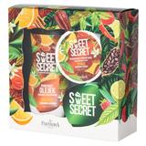 Pachet Cadou pentru Ingrijire Corporala cu Portocale Farmona Sweet Secret - Gel de Baie si Dus 300ml, Crema de Corp 200ml