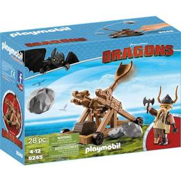 Playmobil Dragons - Gobber cu catapulta