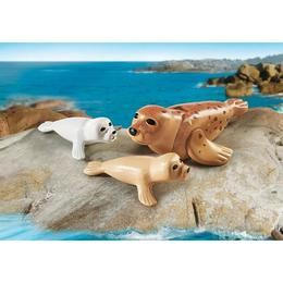 Playmobil Family Fun - Foca si puii sai