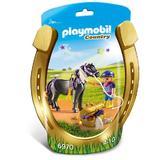 Playmobil Country - Ingrijitor si ponei cu stelute