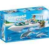 Playmobil Family Fun - Barca de viteza