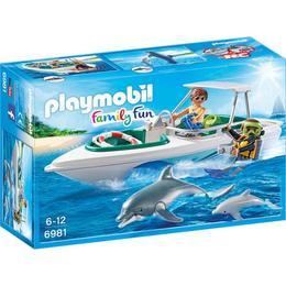 Playmobil Family Fun - Barca de viteza