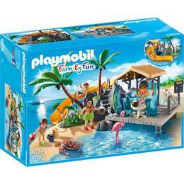 Playmobil Family Fun - Insula cu bar