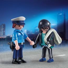 Playmobil City Action - Politist si hot