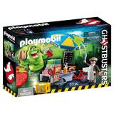 Playmobil Ghostbusters - Slimmer si stand de hot dog