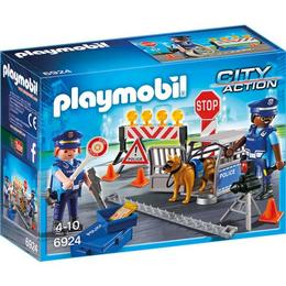 Playmobil City Action - Blocaj rutier al politiei