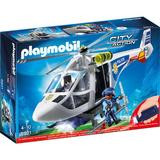 Playmobil City Action - Elicopter de politie cu led