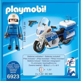 Playmobil City Action - Motocicleta politiei cu led