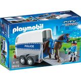 Playmobil City Action - Remorca cu cal