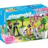Playmobil City Life - Copii cu flori si fotograf