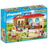 Playmobil Country - Cutie de joaca - Casuta de la tara