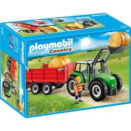Playmobil Country - Tractor mare cu remorca