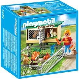 Playmobil Country - Tarc de iepuri cu cusca