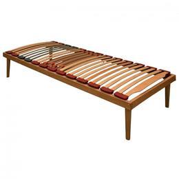 Somiera Relax Pat RUS, din lemn masiv, fag stratificat, 100x190xh35 cm - Cbs Export