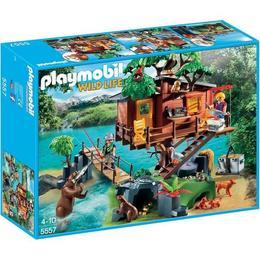 Playmobil Wild Life - Casa din copac
