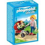 Playmobil City Life - Carucior cu gemenii