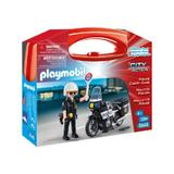 Playmobil City Action - Set portabil politie