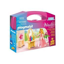 Playmobil Princess - Setul portabil printesa o va ajuta pe cea mica sa-si pregateasca pentru bal figurina.