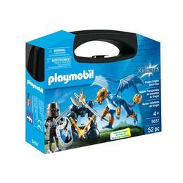 Playmobil Knights - Micutii printi isi pot apara regatul cu ajutorul cavalerilor dragon.