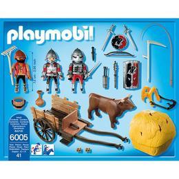 Playmobil Knights - Cavaleri soim cu trasiura camuflata