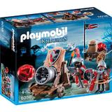 Playmobil Knights - Cavaleri Soim cu tun de batalie