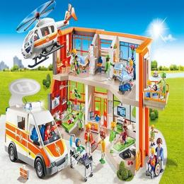 Playmobil City Life - Spital de copii echipat