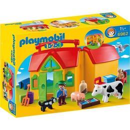 Playmobil 1.2.3 - Set Mobil Ferma