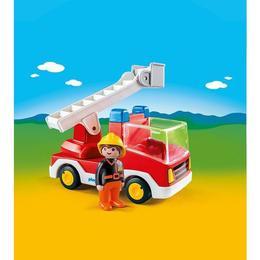 Playmobil 1.2.3 - Camion cu pompier