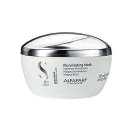 Masca de Stralucire pentru Par Normal - Alfaparf Milano Semi Di Lino Diamond Illuminating Mask, 200ml