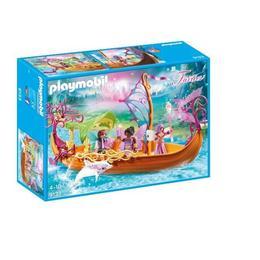 Playmobil Fairies - Barca magica cu zane