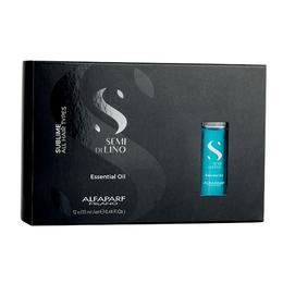 Ulei Esential pentru Stralucire - Alfaparf Milano Semi Di Lino Sublime Essential Oil, 12 fiole x 13 ml