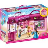 Playmobil City Life - Set Mobil Butic cu haine
