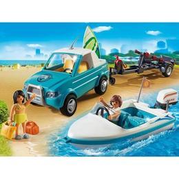 Playmobil Summer Fun - Barca de viteza pentru aventura unica in largul marii.