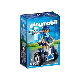 Playmobil City Action - Politista cu masina de echilibru