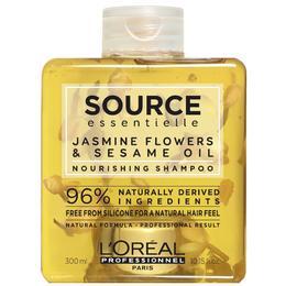 Sampon Nutritiv cu Flori de Iasomie si Ulei de Susan - L'Oreal Professionnel Source Essentielle Jasmine Flowers & Sesame Oil Nourishing Shampoo, 300ml