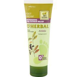 Crema Revigoranta pentru Picioare Obosite cu Extract de Aronia O'Herbal, 75ml