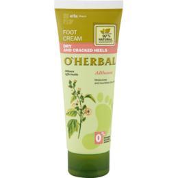 Crema pentru Calcaie Uscate si Crapate cu Extract de Nalba Mare O'Herbal, 75ml