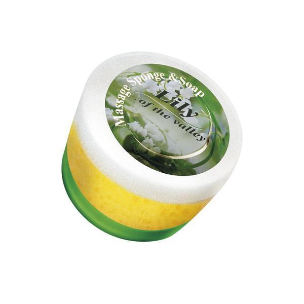 Sapun cu burete Lacramioare - Fine Perfumery 70g imagine produs