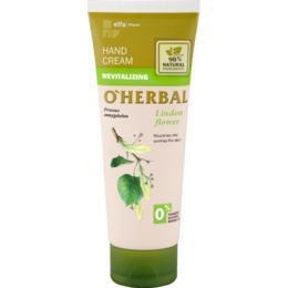 Crema Revitalizanta pentru Maini cu Extract de Tei O'Herbal, 75ml