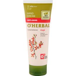 Crema Anti-Aging pentru Maini cu Extract de Goji O'Herbal, 75ml