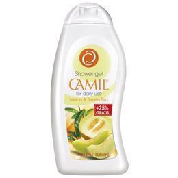Gel de dus cu pepene galben si ceai verde Camil 400 ml + 100 ml Gratis